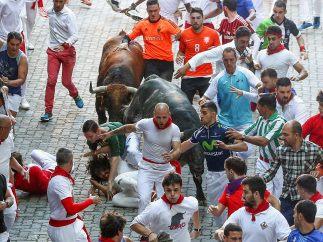 Delante del toro