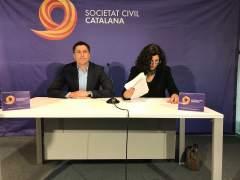 El presidente de SCC José Rosiñol y la vicepresidenta Miriam Tey.
