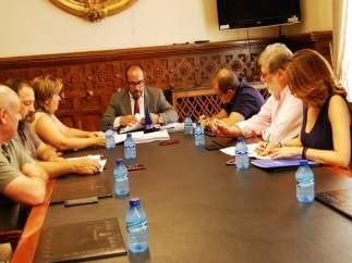 Mesa de Diálogo Social de la Diputación de Soria