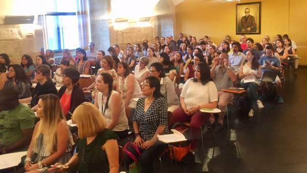 Alumnos del máster para Profesores de Lengua y Cultura Españolas. 9-7-2018