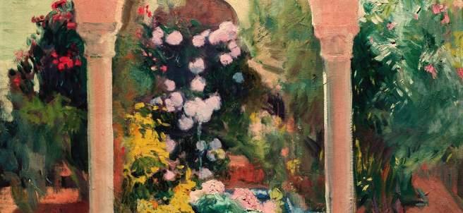 Joaquín Sorolla. El patio andaluz de la Casa Sorolla, 1918-1919