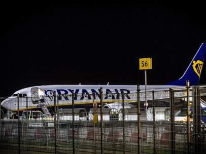 Amenaza de bomba en un avión de Ryanair