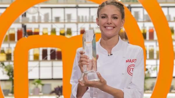Marta, ganadora de MasterChef