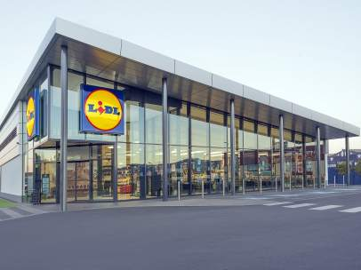 Una de las tiendas físicas de Lidl.