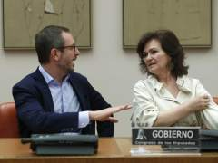 Carmen Calvo y Javier Maroto