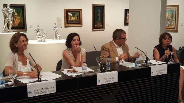 Rueda de prensa de la exposición 'El mundo de Giorgio de Chirico'