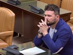 """Rufián cree que Llarena retirará la euroorden aunque """"hará lo que le digan"""""""