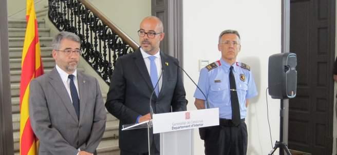 M.Buch, el nuevo comisario jefe Miquel Esquius i Andreu Martínez.