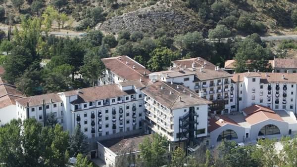 Imagen del balneario de Ledesma.