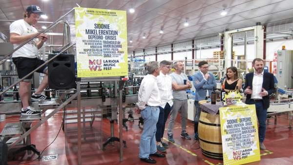 Presentación Muwi La Rioja Music Fest