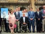Concentración en Salamanca en recuerdo de Miguel Ángel Blanco