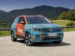 El Volkswagen T-Cross será el quinto modelo SUV de la marca y se fabricará en Navarra