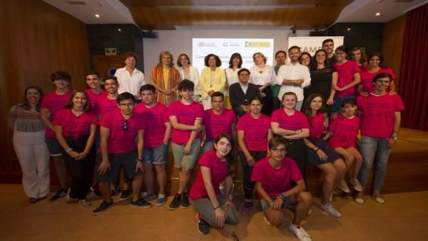 Participantes de los Campus Inclusivos