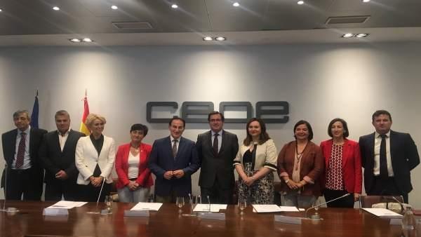 Jornada CEOE Málaga inversión