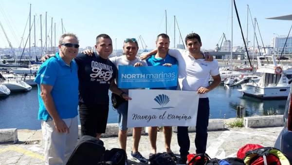 Miembros Camino de Santiago por Mar