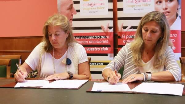 Colaboración entre Cámara Zaragoza y la asociación Generando Futuro