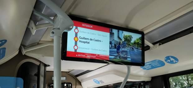 De Bussi a EMTV: información en tiempo real y wifi en los autobuses de València