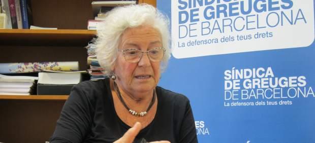 La Síndica de Greuges de Barcelona, Maria Assumpció Vilà.