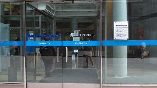 Juzgados de Oviedo, juzgado, fiscalía, juicio,