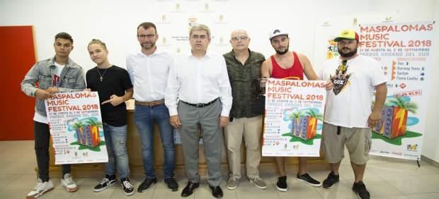 Presentación del Maspalomas Music Festival