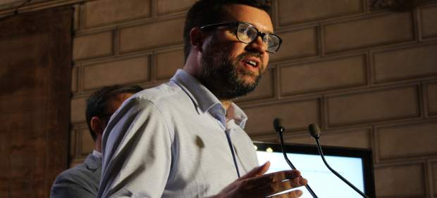 Antoni Noguera, en rueda de prensa