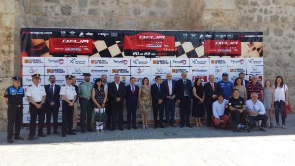 Presentación de la Baja Aragón 2018