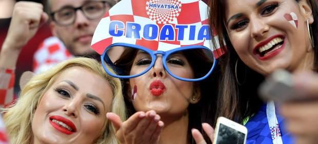 Aficionadas croatas