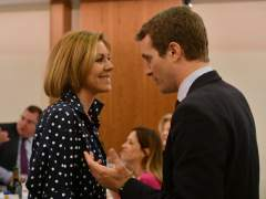 """Cospedal hace público su apoyo a Casado: """"Es una magnífica opción"""""""