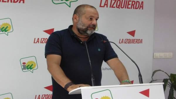 El coordinador provincial de IU, Rafael Sánchez Rufo.