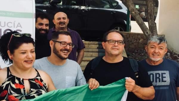 Equipo de Teresa Rodríguez (Podemos) en Almería