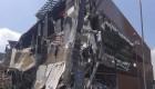 Derrumbe en un centro comercial de Ciudad de México