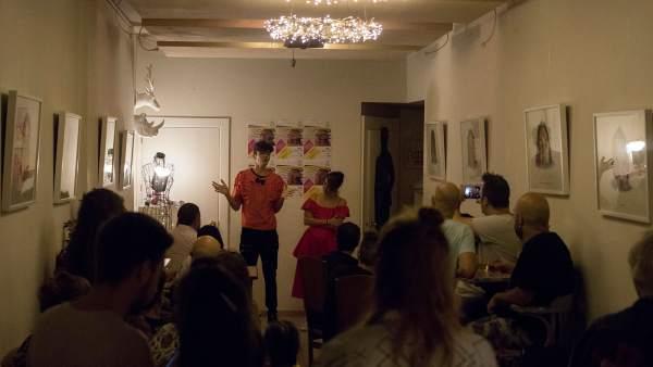 Fiesta de presentación de la primera edición del Festival de Arte Clandestino