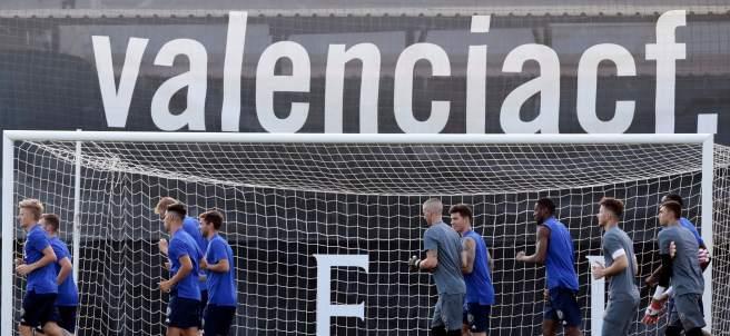 Entrenamiento del Valencia