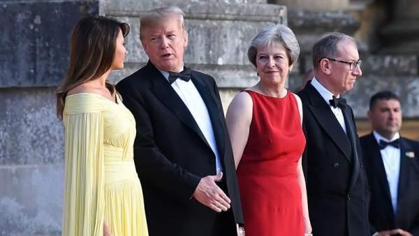 Visita de Trump al Reino Unido