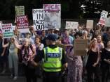 Protestas contra Trump en el Reino Unido
