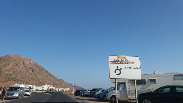 Imagen del Cabo de Gata (Almería)