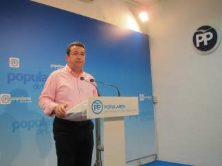 Fernando Manzano, secretario general del PP en Extremadura