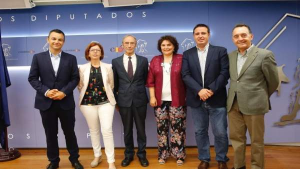 EL PSOE demana en el Congrés que el Corredor Mediterrani a la Comunitat tinga connexió amb l'Atlàntic i Cantàbric