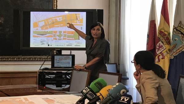 Presentación del proyecto de renovación urbana de la calle Magallanes y aledaños