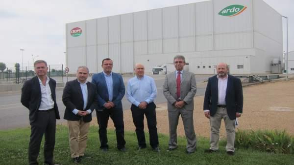 Imagen de la inversión de Monliz España en la Plataforma Logística de Badajoz