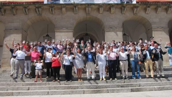 Acto homenaje a Miguel Ángel Blanco en Cáceres