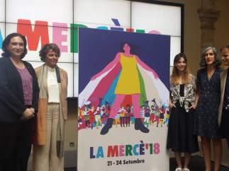 Acto de presentación de las fiestas de la Mercè 2018.
