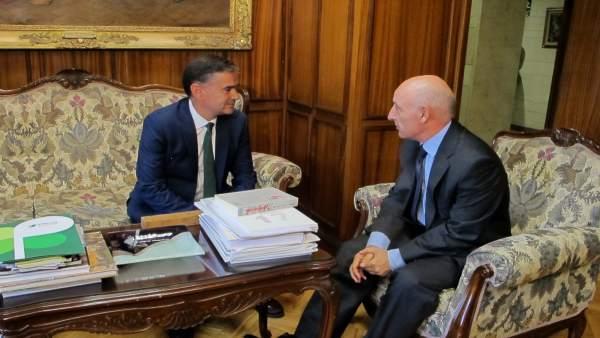 Reunión entre Manuel González Ramos y Vicente Rouco