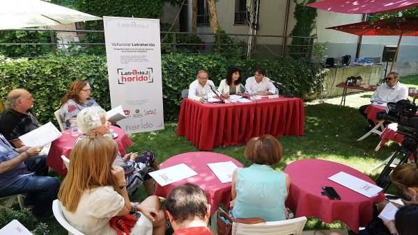Presentación de 'Valladolid Letraherido'. 13-7-2018