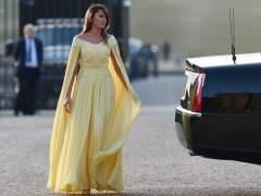 """El vestido por el que Melania y Donald Trump son comparados con 'La Bella y la Bestia"""""""