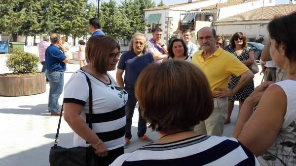 Rosario Cordero visita Torremocha
