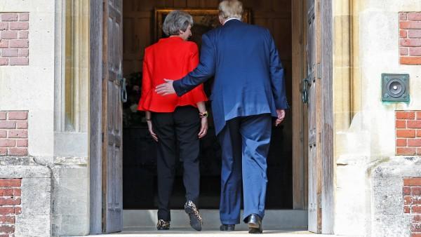 El presidente de EE.UU., Donald J. Trump, visita Reino Unido