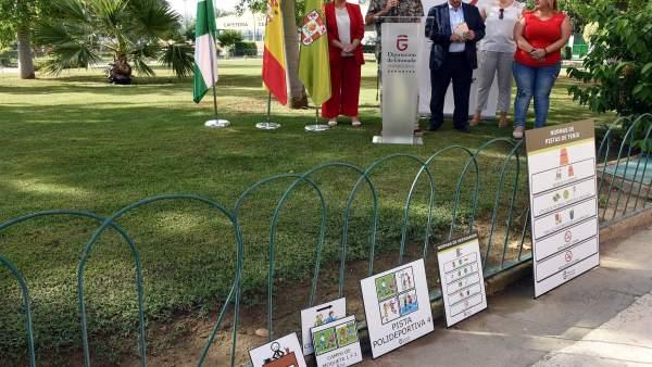 La Ciudad Deportiva de Armilla, accesible para personas con procesos cognitivos