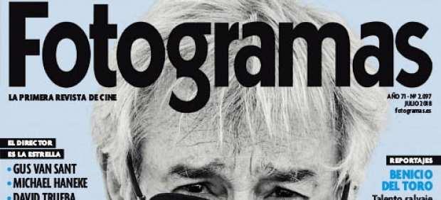 Portada del último número de la revista 'Fotogramas'.