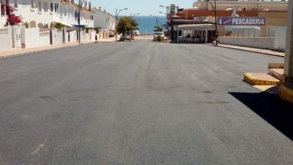 Almonte invierte 860.000 euros en varias obras en Matalascañas.